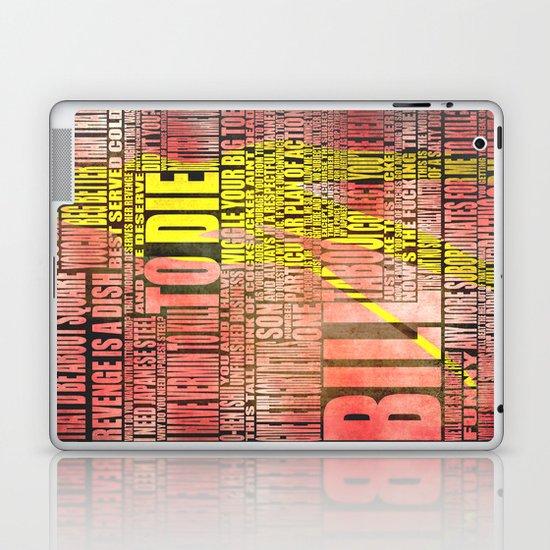 Kill Bill redux Laptop & iPad Skin