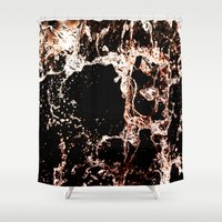 coke Shower Curtains featuring Coke a cola Splash by Karl Wilson Photography