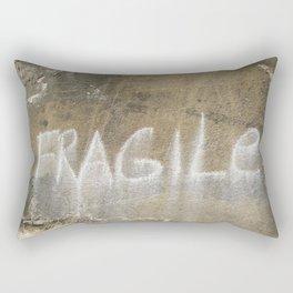 Fragile city Rectangular Pillow