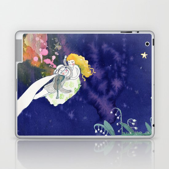 lilies of the valley Laptop & iPad Skin