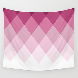 Rose Diamonds Wall Tapestry