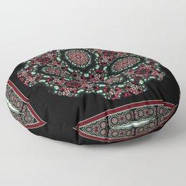 Holiday Mandala Floor Pillow