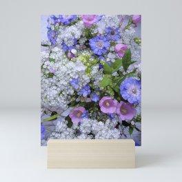 Fancy Flowers Mini Art Print