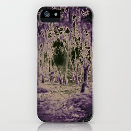 Into the Black Lodge iPhone Case