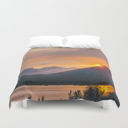Jasper, Alberta Duvet Cover