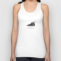 converse Tank Tops featuring Destroy Converse by Type & Junk