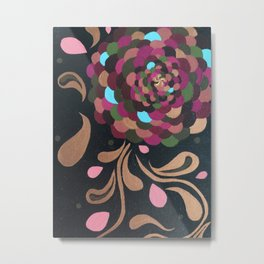 Wa Flower Metal Print