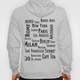New York, Los Angeles and others city . Fashion Chic Home Decor Graphicdesign Hoody