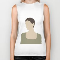 les miserables Biker Tanks featuring Fantine - Anne Hathaway - Les Miserables by Hrern1313