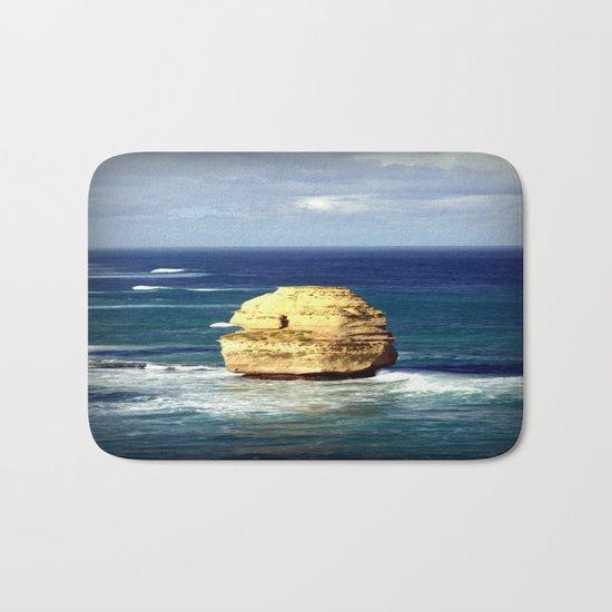 Limestone Rock Bath Mat