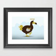 God's Zoo: Mauritius Dodo Framed Art Print