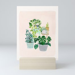 House plants Mini Art Print