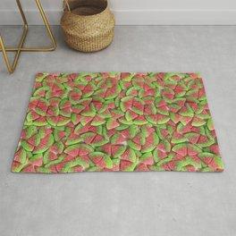 Sour Watermelon Gummy Candy Photo Pattern Rug
