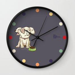 Cerberus Puppy Wall Clock