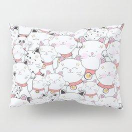 FIND THE PANDA - LUCKY CAT Pillow Sham