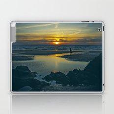 Walking at Sunset Laptop & iPad Skin