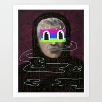 Things We Become Art Print