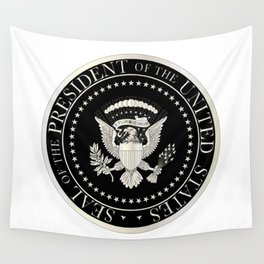 Presedent Seal Wall Tapestry