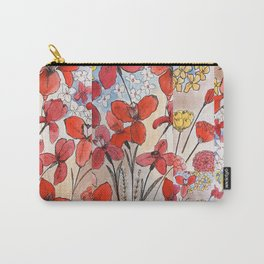 Summer Irises Pt 2 Carry-All Pouch