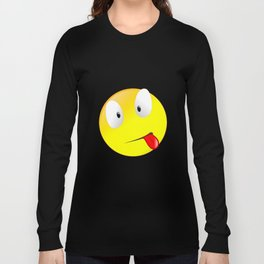 Silly Sick Smiley Long Sleeve T-shirt