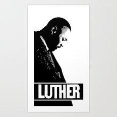 Luther - Idris Elba Art Print