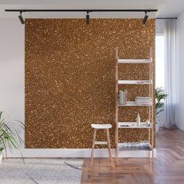 Soft Rose Gold Glitter Wall Mural