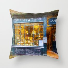 The Flax and Twine Throw Pillow