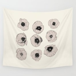 poppy Wall Tapestry