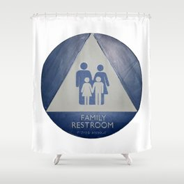 Family Room Shower Curtain
