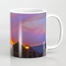 Smoky Sunset Bay Coffee Mug
