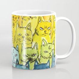 the pride cat rainbow  squad Coffee Mug