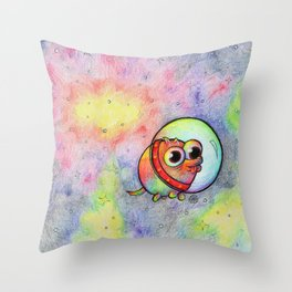 Goober's Space Adventure Throw Pillow