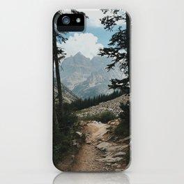 Grand Teton Way iPhone Case