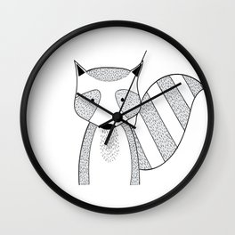 Cartoon cute animals many a highlight Wall Clock