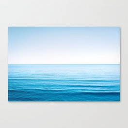 Soothing Sea Canvas Print