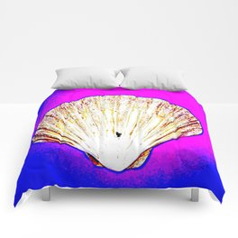 White Shell Comforters