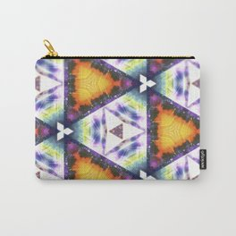 Prism Triangle Original Artwork by Rachael Rice Carry-All Pouch