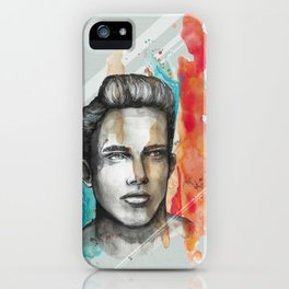 Philippe by carographic, Carolyn Mielke iPhone Case