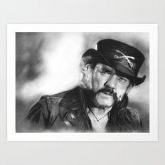 Lemmy Kilmister Art Print