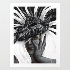 Dragon Woman Art Print