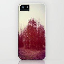 RED BUSH iPhone Case
