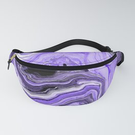 Painted Violet Fanny Pack