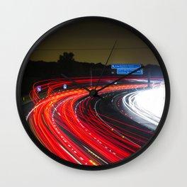road lazer Wall Clock