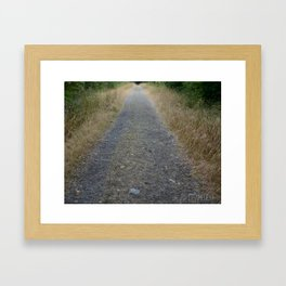 Not all those who wonder are lost Framed Art Print