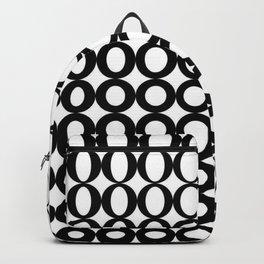 Black Cercle  Backpack