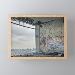 Panoramic Restaurant of Monsanto II Framed Mini Art Print