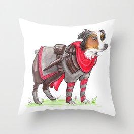 DogDays19 Thor Throw Pillow