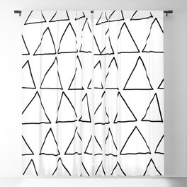 triangles at play Blackout Curtain