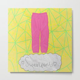 Sweatpants Metal Print