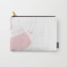 Minimal Ocean Dream Woman #1 #wall #decor #art #society6 Carry-All Pouch